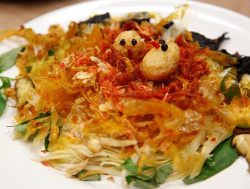Bánh tráng trộn - Món ăn vặt thơm ngon