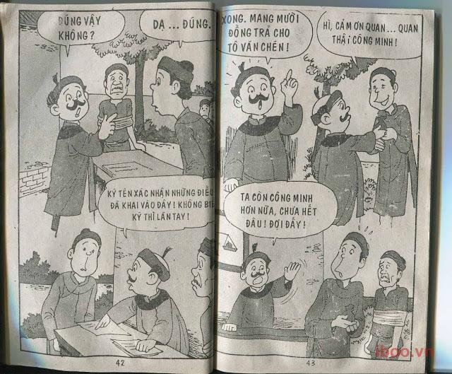 Đọc Truyện Trạng Quỳnh Tập 81: Kẻ Cướp Hoàng Lương